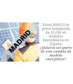 Instalaciones fotovoltaicas con PVStream. MADRID