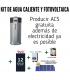Kit fotovoltaico SHARP de 4,74 kWp + producción de ACS FROLING