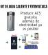 Kit fotovoltaico SHARP de 3,16 kWp + producción de ACS FROLING
